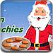 圣诞老人做巧克力曲奇